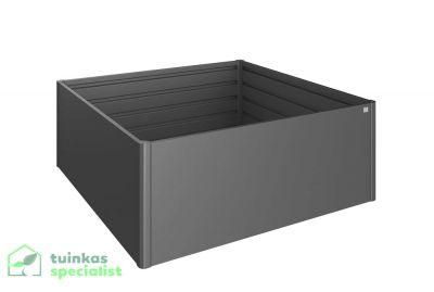 Biohort Moestuinbox 2x2 Donkergrijs - Tuinkasspecialist.nl