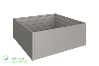 Biohort Moestuinbox 2x2 kwartsgrijs - Tuinkasspecialist.nl