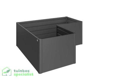 Biohort Moestuinbox L Donkergrijs - Tuinkasspecialist.nl