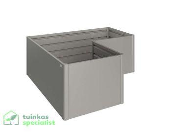 Biohort Moestuinbox L kwartsgrijs - Tuinkasspecialist.nl