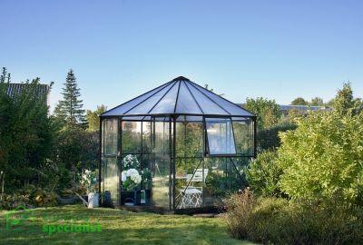 Halls tuinkamer Prieel Atrium zwart RW2808